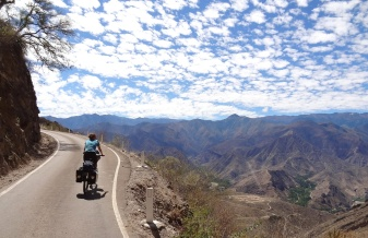 Road to Cajamarca, Peru