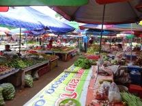 Market in Luang Nam Tha