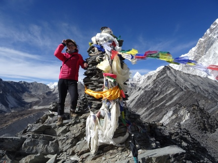 Chukhung Ri in the Everest Region.