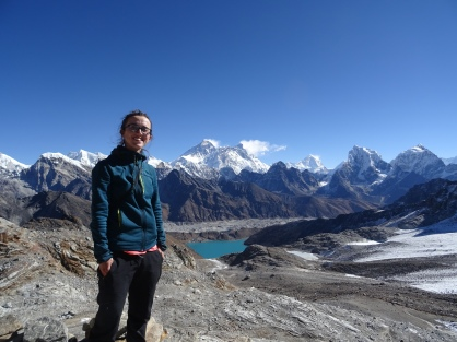 Renjo La Pass on the Everest 3 passes Trek.
