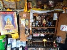 Inside Praten Gompa