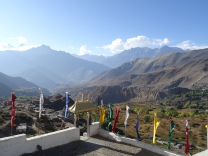 View from Muktinath