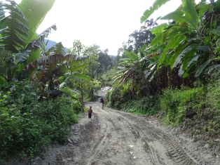Climbing to Ghorepani