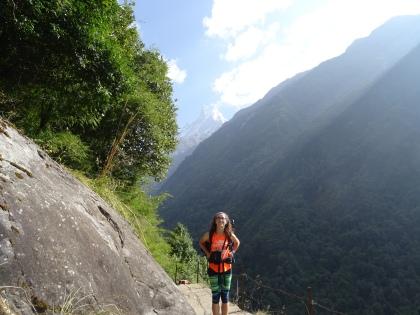 Climbing to Himalaya