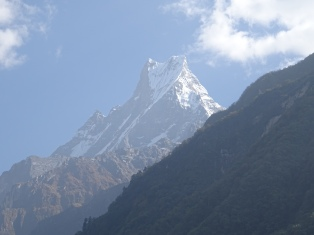 Machapuchare Mountain