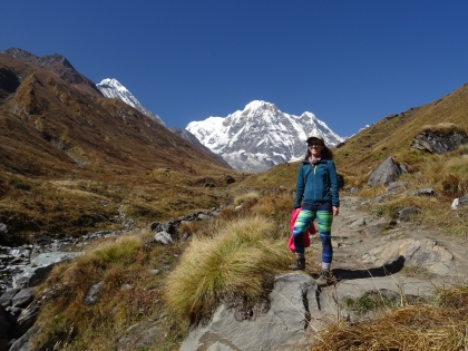Final stretch to Annapurna basecamp